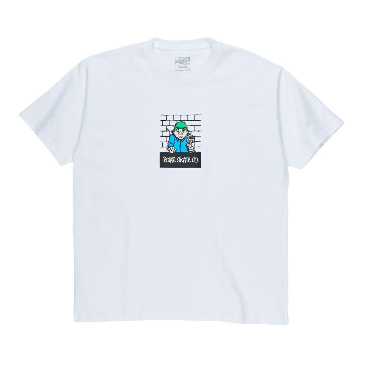 Polar Skate Co. Robbery Tee White