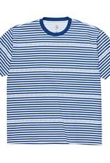 Polar Skate Co. Stripe Logo Tee Dark Blue