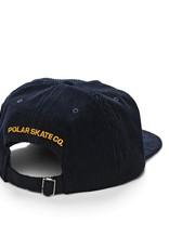 Polar Skate Co. Cord 5-Panel Navy