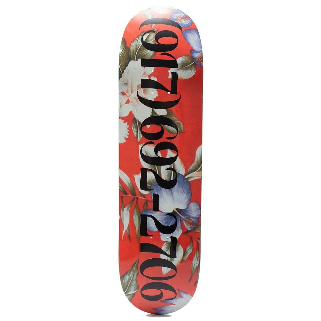 CallMe917 Red Floral Dialtone 8.25