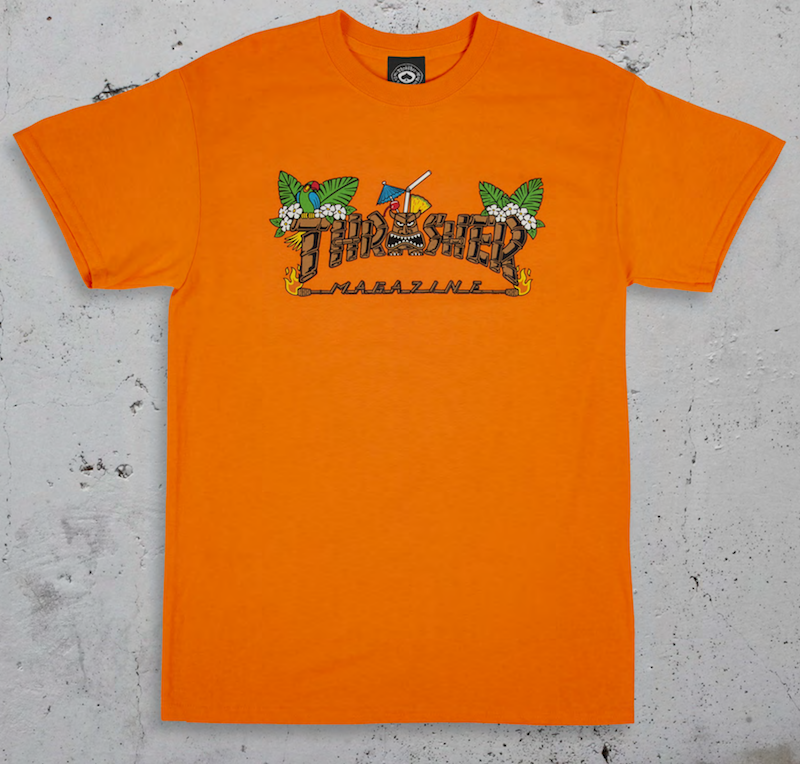 Thrasher Mag. Tiki Orange