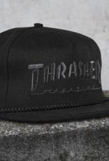 Thrasher Mag. Rope Snapback Black/Black