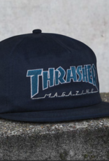 Thrasher Mag. Outlined Snapback Navy/Grey
