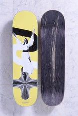 Quasi Skateboards Peace (yellow) 8.25