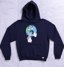 Quasi Skateboards World Hoodie Navy