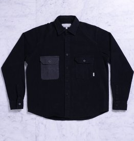 Quasi Skateboards CM L/S Button Up Black