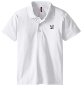 Deathwish Skateboards Deathstack White Polo