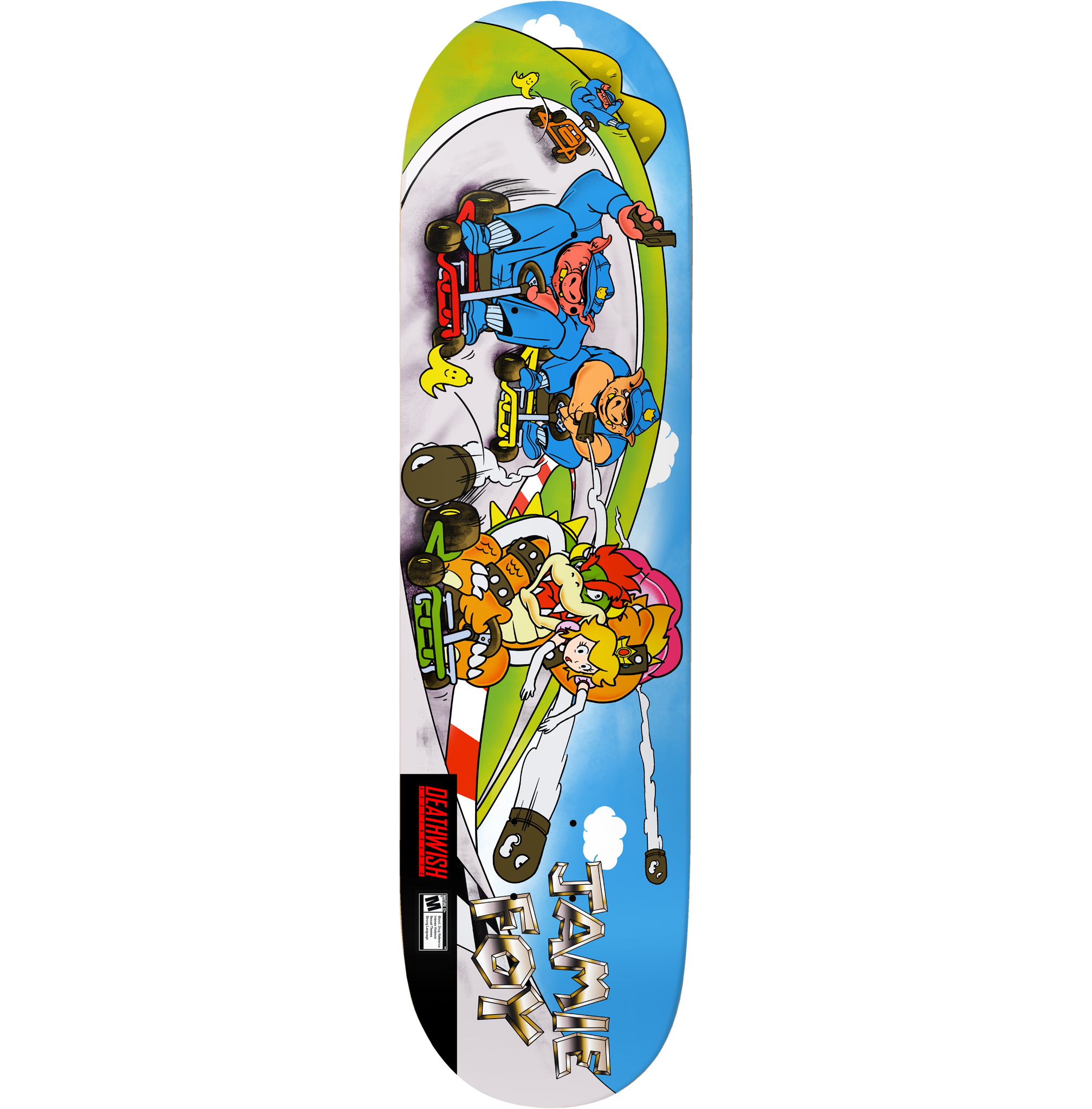 "Deathwish Skateboards JF Pig Pursuit 8.0"""