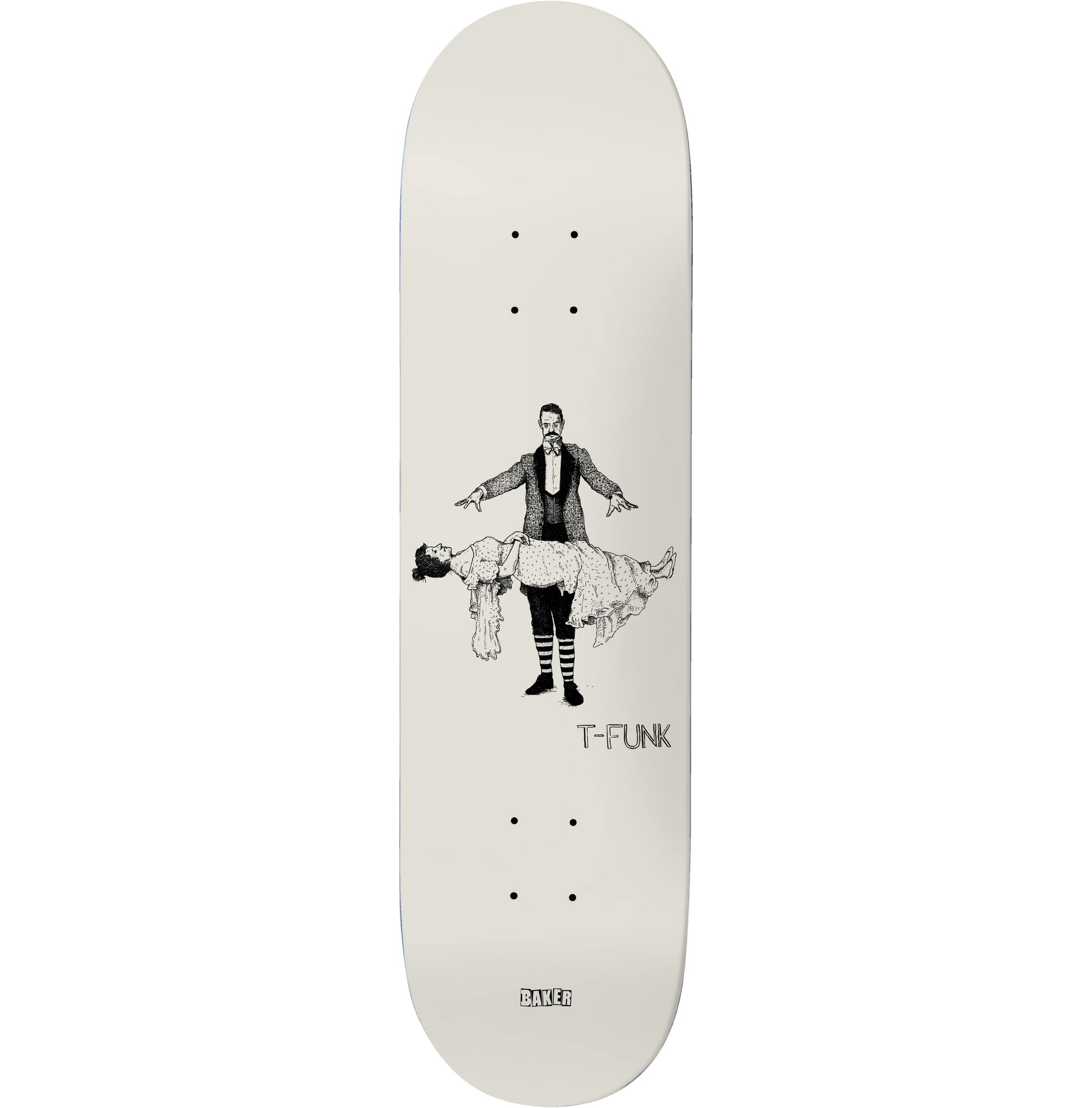 "Baker Skateboards TF Curiosities 8.5"""