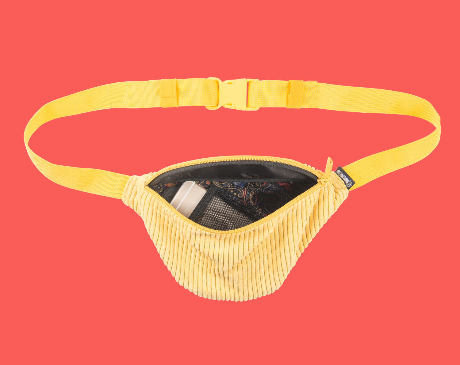 Bum Bag Jiff Basic Hip Pack Yellow