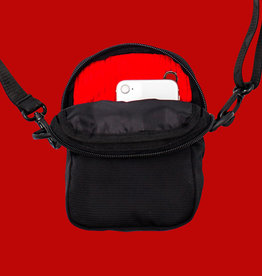 Bum Bag Baker Compact Shoulder Bag Black
