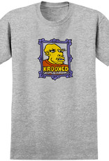 Krooked Frame Face Heather Tee