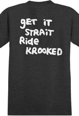 Krooked Shmolo Charcoal Heather Tee