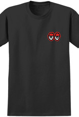 Krooked Krooked Eyes Black Red Tee