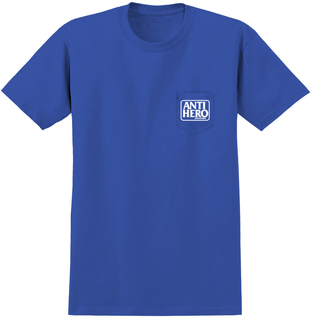 Anti Hero Reserve Pocket Royal White Tee