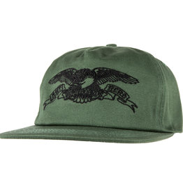 Anti Hero Basic Eagle Emb Snapback Green