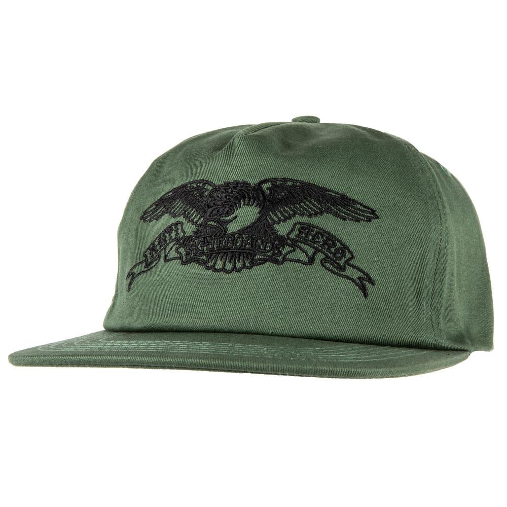 Anti Hero Basic Eagle Emb Snapback Green