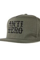 Anti Hero Flash Hero Emb Snapback Army