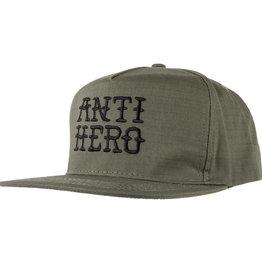 Anti Hero Flash Hero Emb Snapback Army