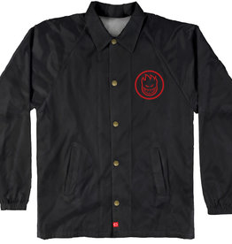 Spitfire Wheels Classic Swirl Black/Red Youth Jacket