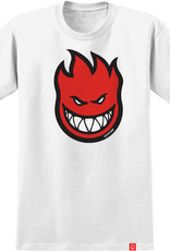 Spitfire Wheels Bighead Fill Youth Tee White/Red