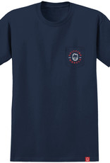 Spitfire Wheels Bighead Classic Pocket Navy/Red Tee