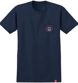 Spitfire Wheels Bighead Classic Pocket Navy/Red Tee