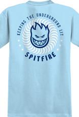 Spitfire Wheels KTUL Tee Blue/White/Navy