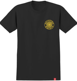 Spitfire Wheels OG Circle Outline Black/Yellow Tee