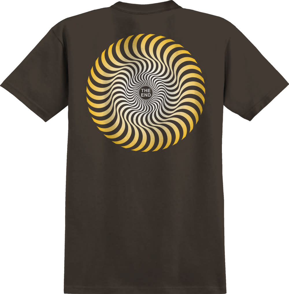 Spitfire Wheels Classic Tee Chocolate