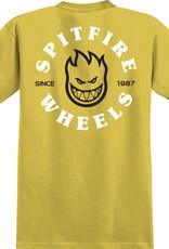Spitfire Wheels Bighead Classic Tee Mustard