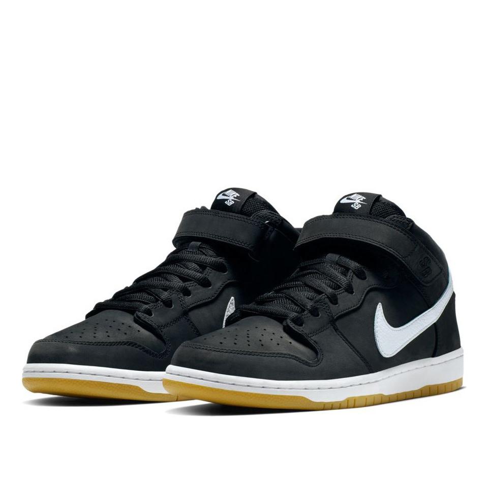 new arrival 368b9 3b611 Nike SB Dunk Mid Pro ISO Black/White-Black