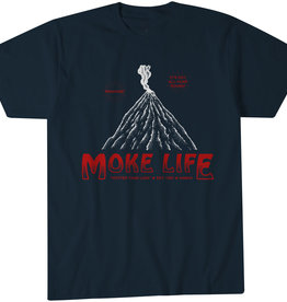 Moke Life Hot Navy Tee