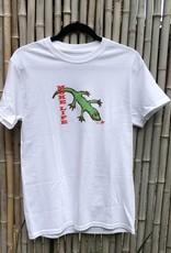 Moke Life Gecko White Tee