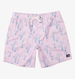 RVCA Program Elastic Trunk Pink