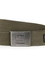 RVCA Falcon Web Belt Olive