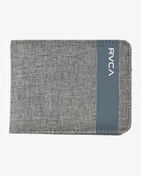 RVCA Leeward Bifold Heather Grey