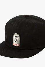 RVCA Tombstone Strapback Black