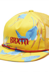 Brixton March HP Mesh Cap Canary