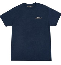 CallMe917 Sharky Tee Navy