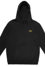 CallMe917 Area Code Pullover Hood Black