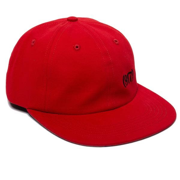 Call Me 917 Area Code Hat Red