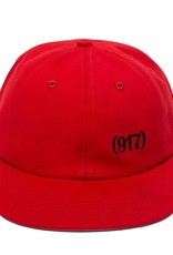 CallMe917 Area Code Hat Red