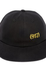 CallMe917 Area Code Hat Black