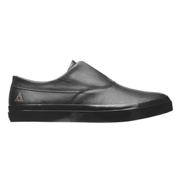 HUF Dylan Slip On Black/Black Full Leather