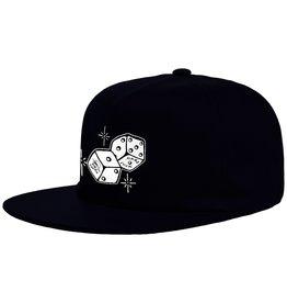 Hard Luck Mfg. Snake Eyes Unstructured Hat Black