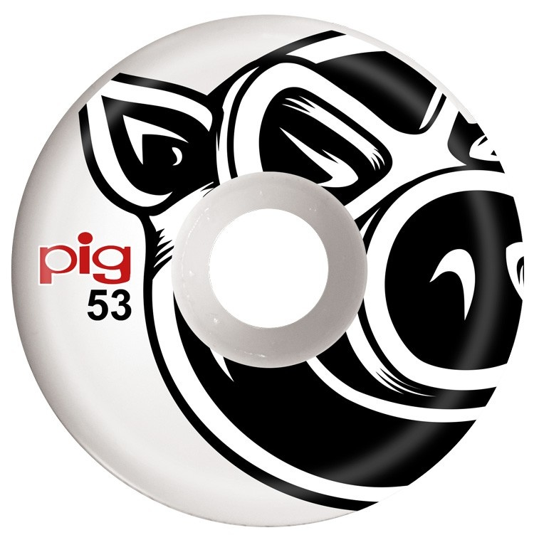 Pig Wheels Pig Head C-Line 53mm