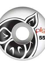 Pig Wheels Pig Head Natural 55mm