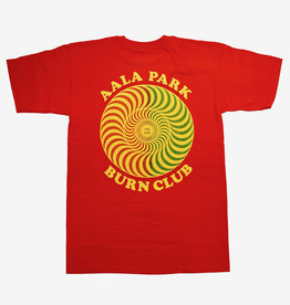 Spitfire Wheels APB x Spitfire Happy Swirl Tee Red