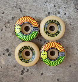 Spitfire Wheels APB x Spitfire F4 101 Happy Swirl Lock-In 55